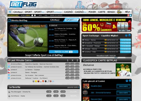 Betflag sito web